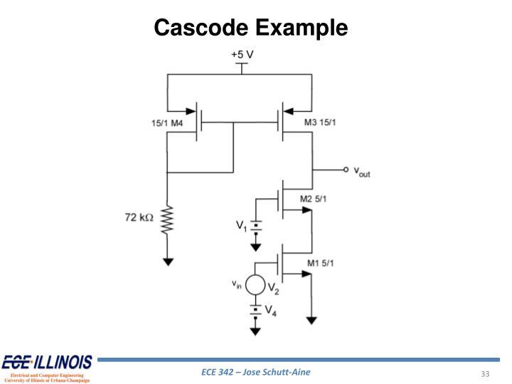 Cascode Example