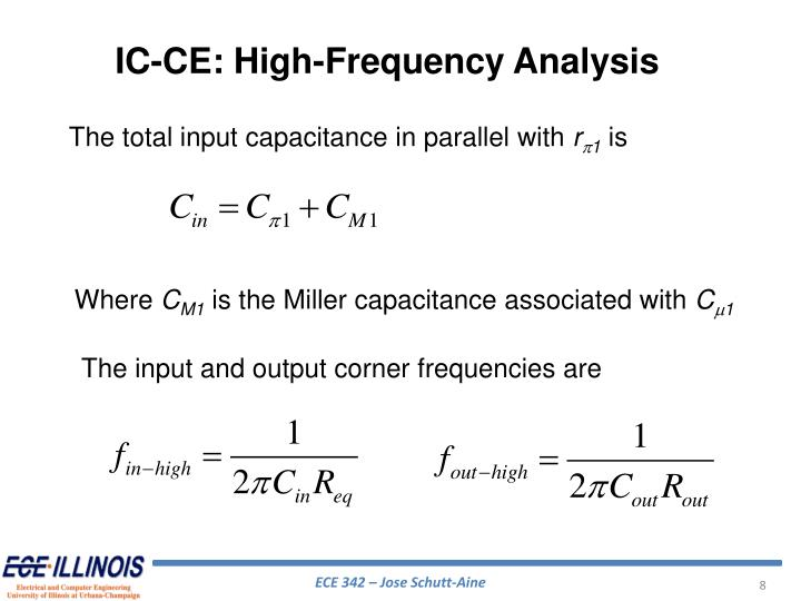 IC-CE: High-Frequency Analysis