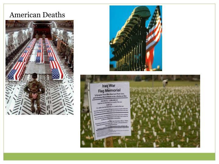 American Deaths