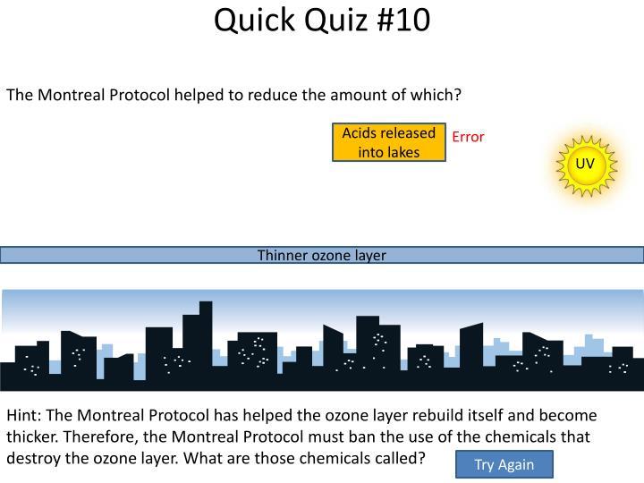 Quick Quiz #10