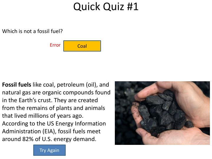 Quick Quiz #1