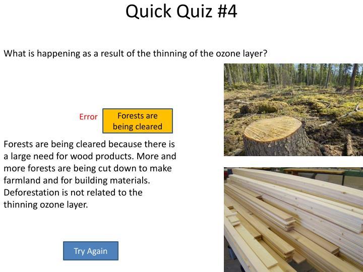 Quick Quiz #4
