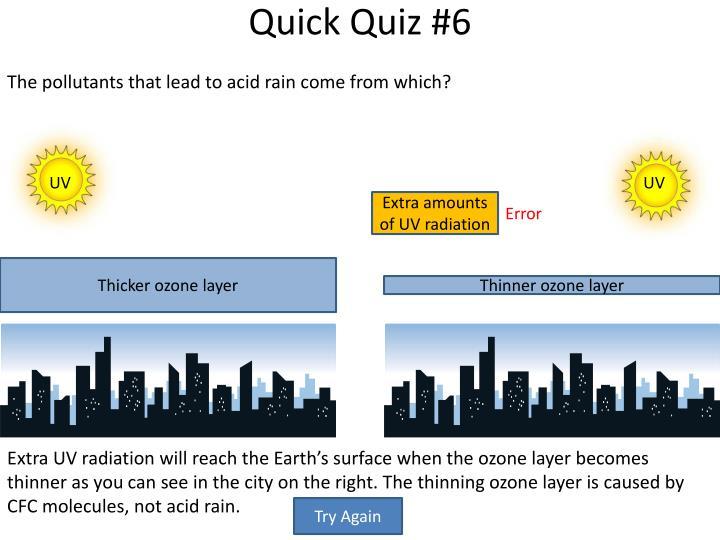 Quick Quiz #6