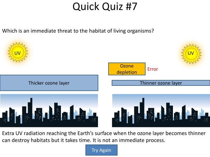 Quick Quiz #7