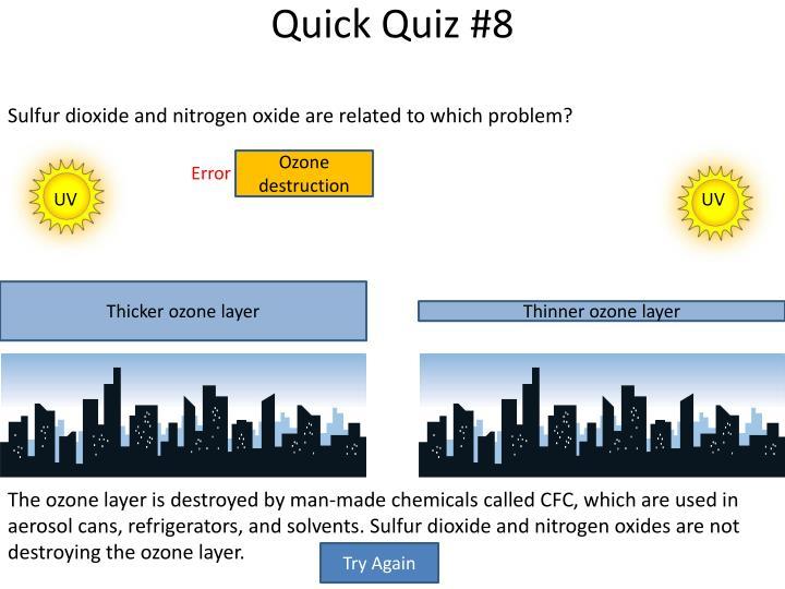 Quick Quiz #8