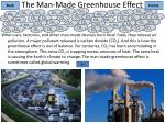 the man made greenhouse effect1