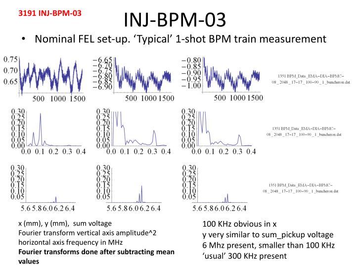 3191 INJ-BPM-03