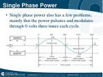 single phase power1