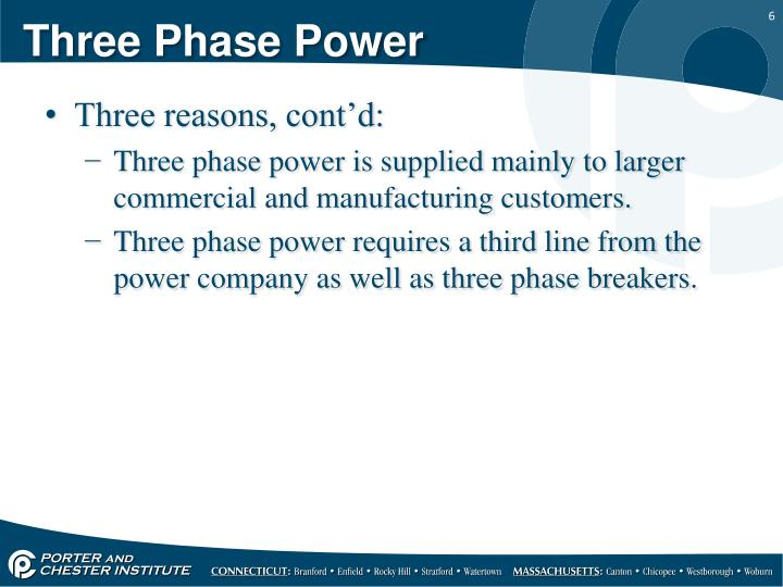 Three Phase Power
