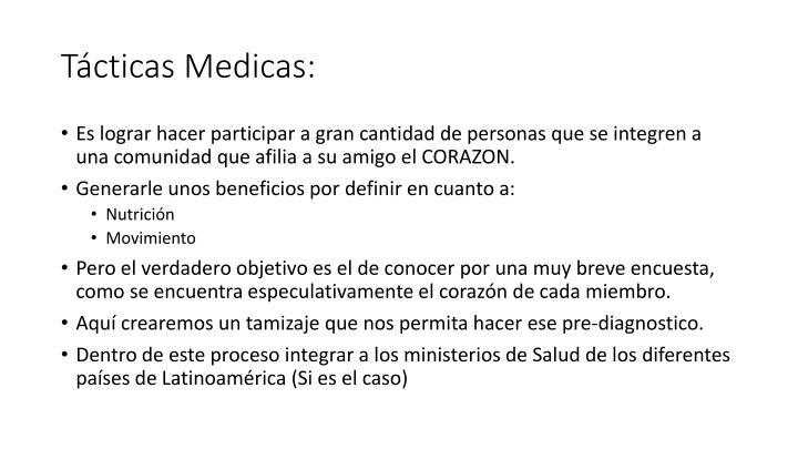 Tácticas Medicas: