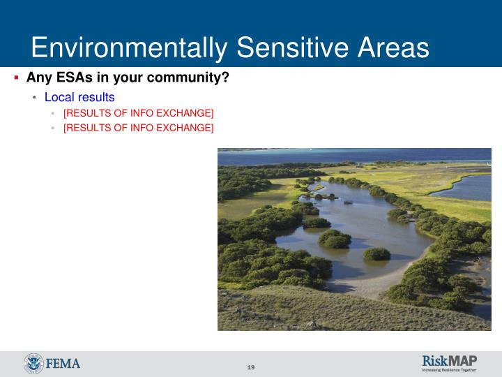 Environmentally Sensitive Areas