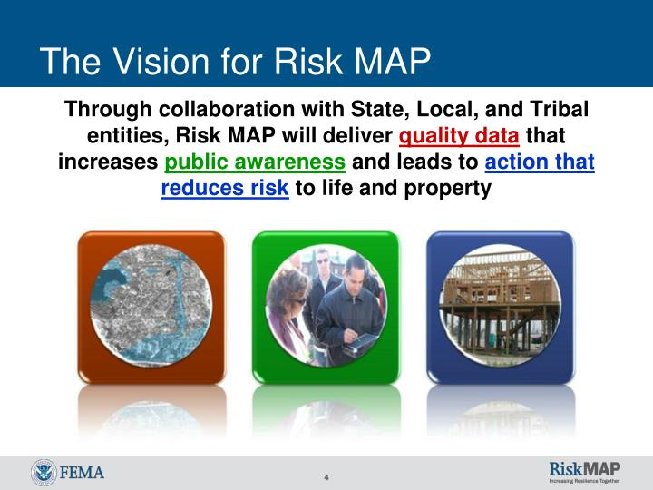 The Vision for Risk MAP