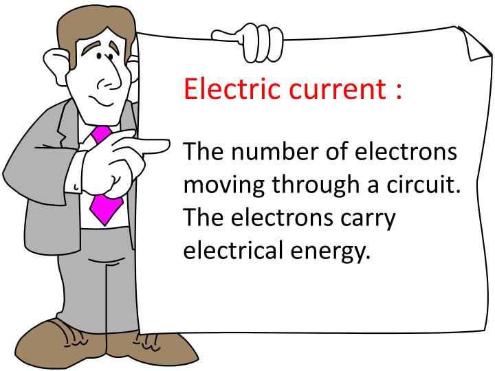 Electric current :