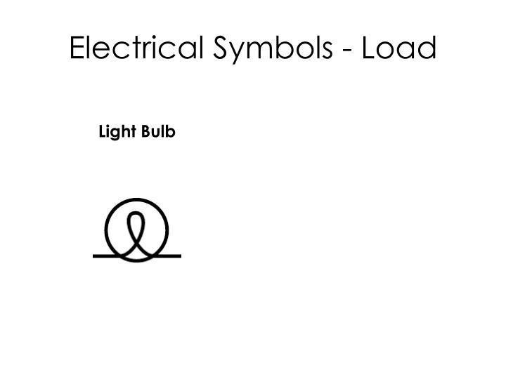 Electrical Symbols - Load