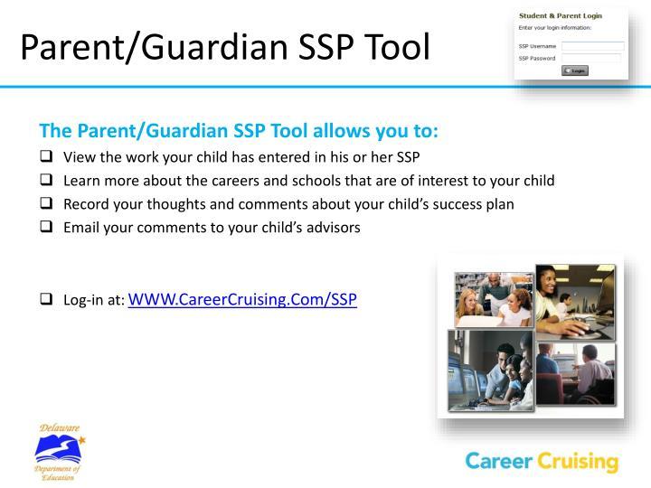 Parent/Guardian SSP Tool