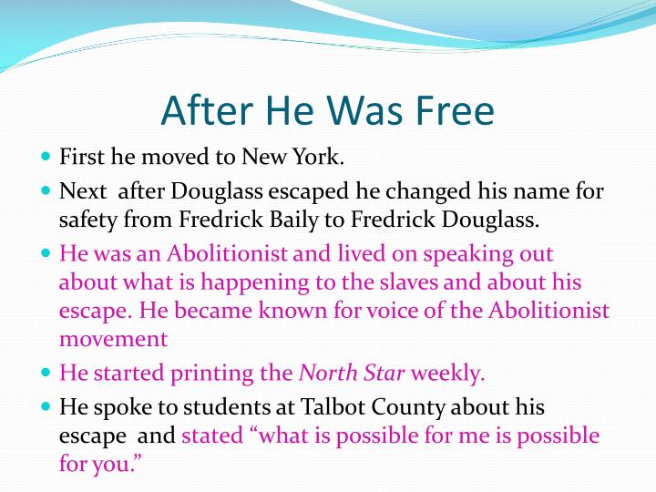 After He Was Free