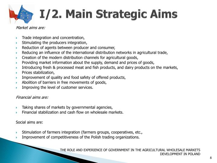 I/2. Main Strategic Aims