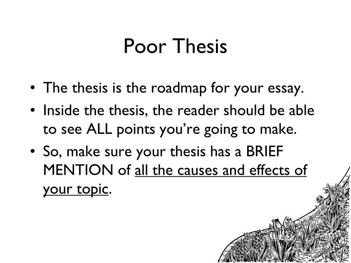 Poor Thesis