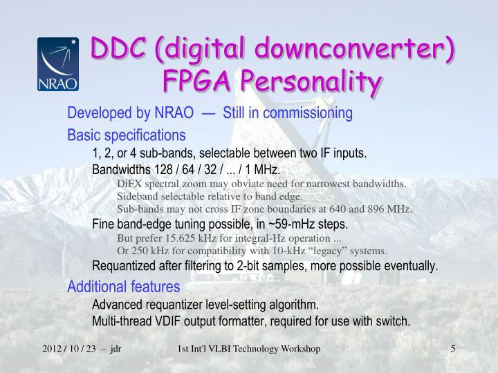 DDC (digital