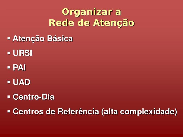 Organizar a