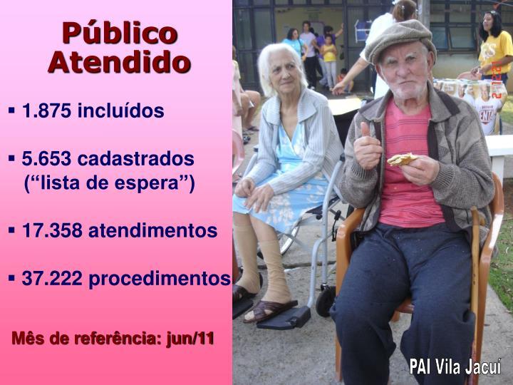Público Atendido