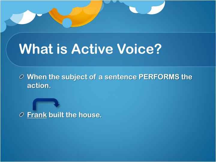 What is Active Voice?