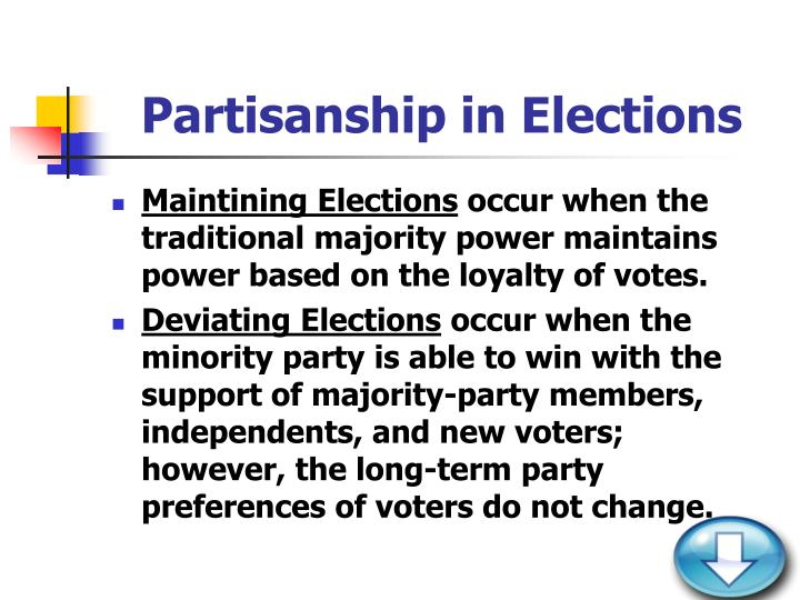 Partisanship in Elections