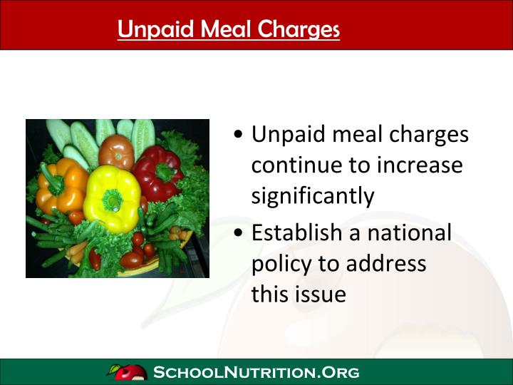 Unpaid Meal Charges