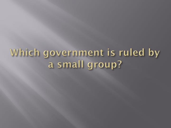 Which government