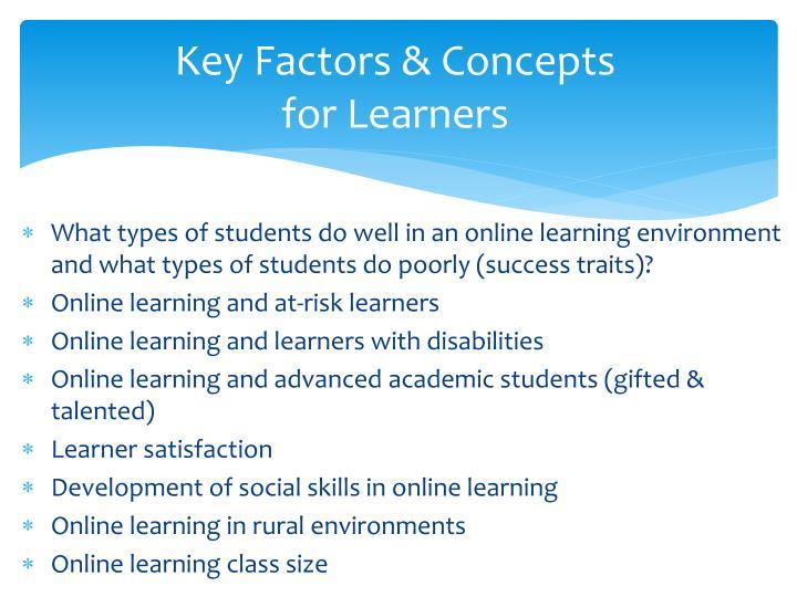 Key Factors & Concepts