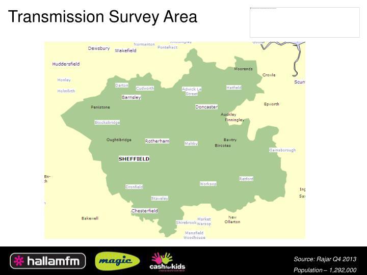 Transmission Survey Area