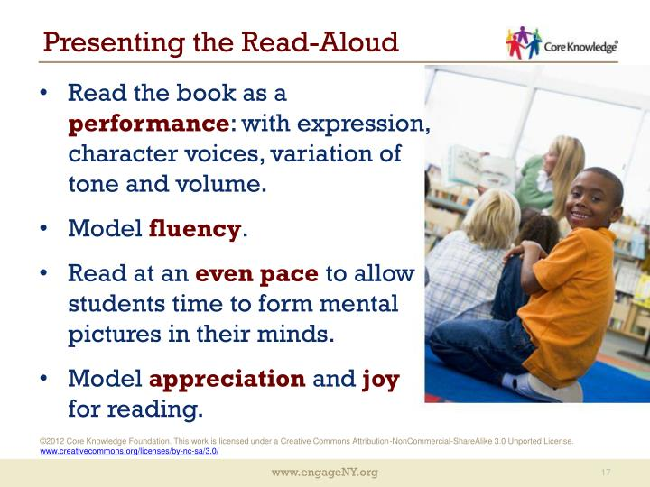 Presenting the Read-Aloud