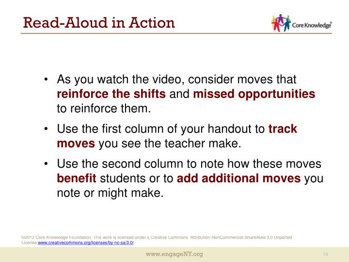 Read-Aloud in Action