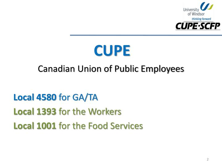 CUPE
