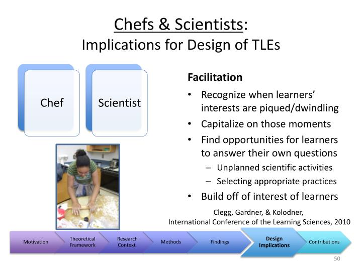 Chefs & Scientists