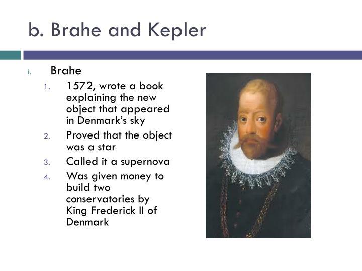 b. Brahe and