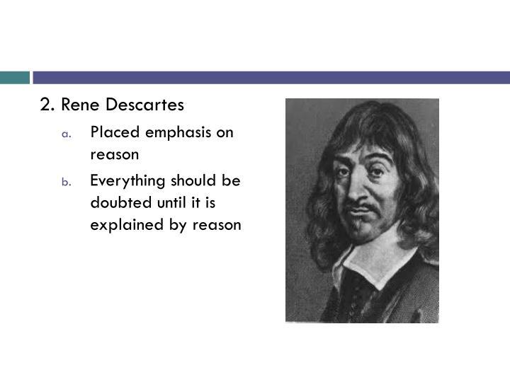 2. Rene Descartes