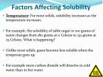 factors affecting solubility1