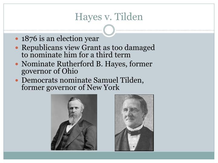Hayes v. Tilden