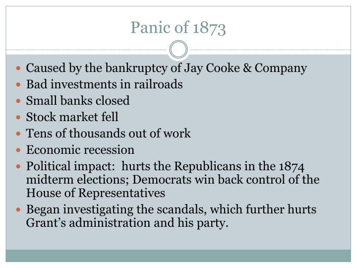 Panic of 1873