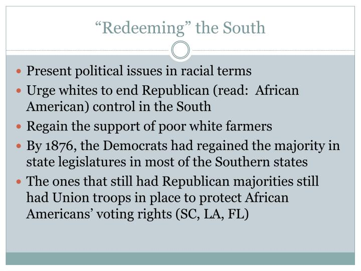 """Redeeming"" the South"