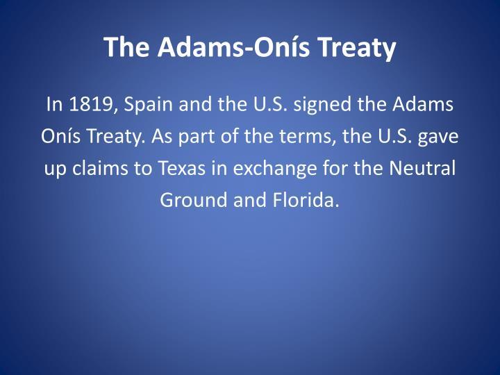 The Adams-