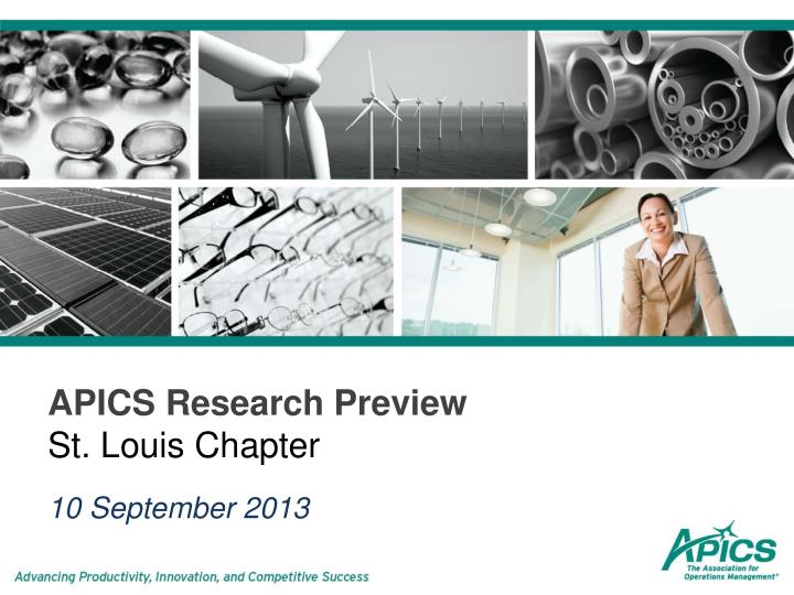 APICS Research Preview