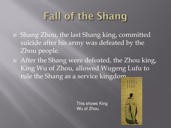 Fall of the Shang