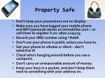 property safe