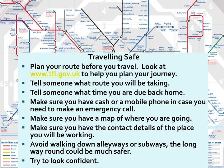 Travelling Safe