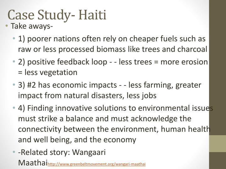 Case Study- Haiti
