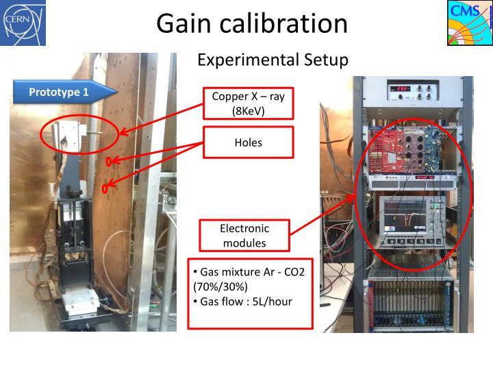 Gain calibration