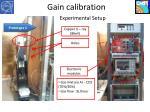 gain calibration2