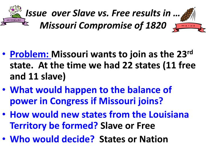 Issue  over Slave vs. Free results in …